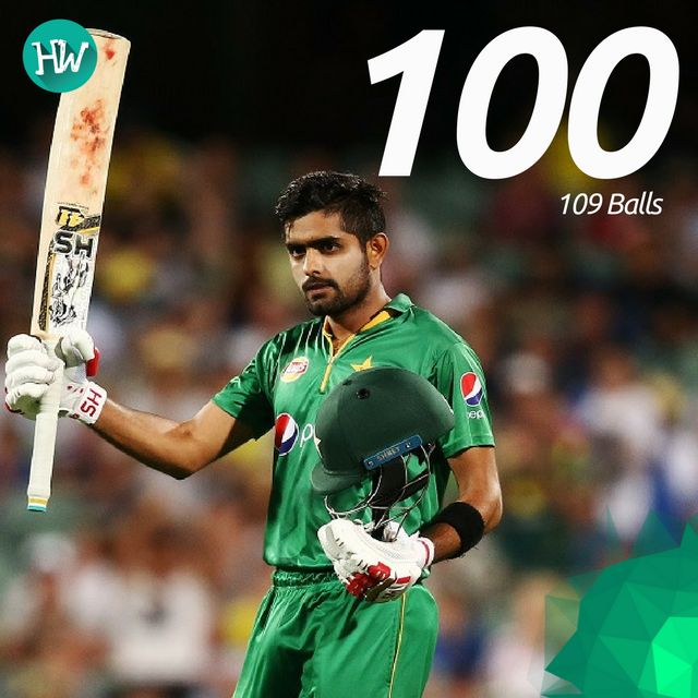 Babar Azam fought hard to keep Pakistan afloat with an excellent century! #AUSvPAK #cricket #AUS #PAK