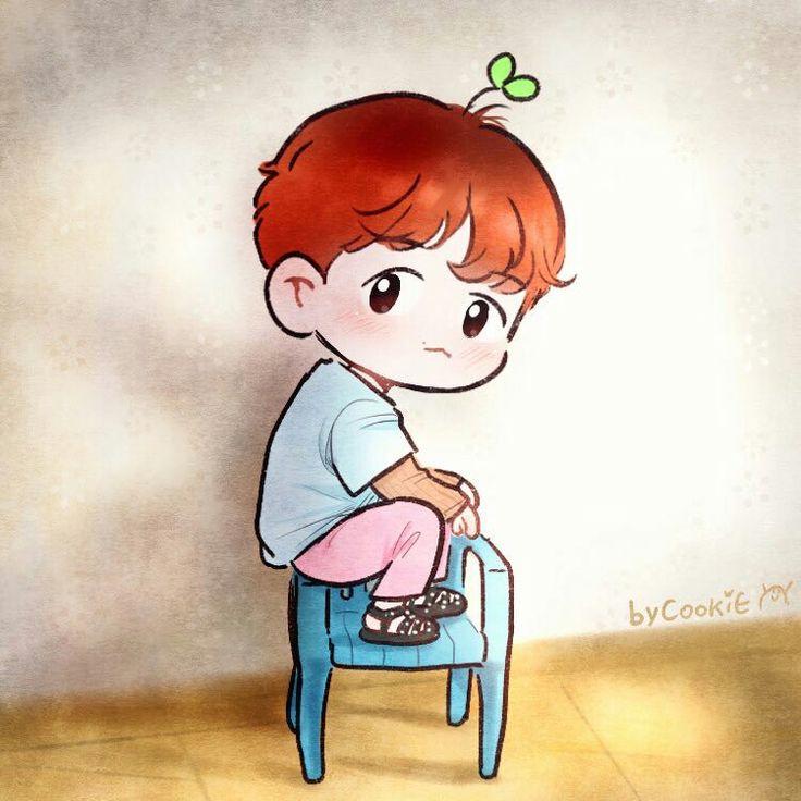 Baekhyun (2 out of 2)   Fanart credit to: @yooocookie