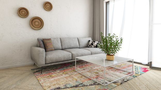 Návrh obývacej izby - interiér Slnečnice, Bratislava - Interiérový dizajn / Living room interior by Archilab