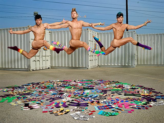 Happy Socks X David LaChapelle