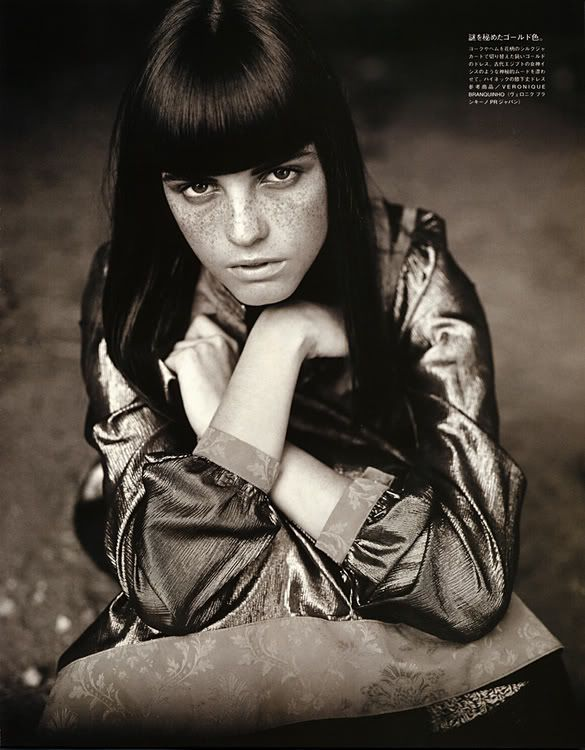 "Vogue Nippon ""Essays on Nature"" 2002 Model: Jeisa Chiminazzo"