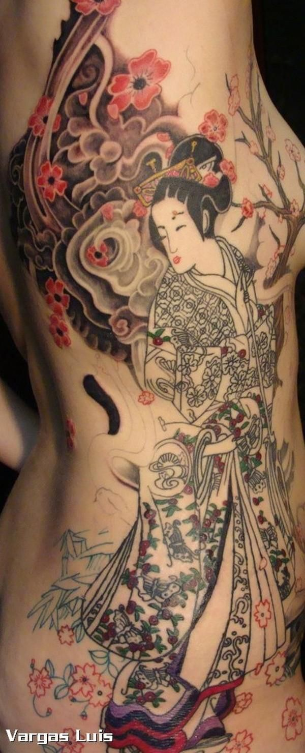 geisha tattoo design tattoos pinterest tatuajes dise os tatuajes y geishas. Black Bedroom Furniture Sets. Home Design Ideas