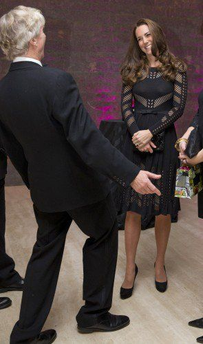 Kate seemed to have a great time at last night's gala.