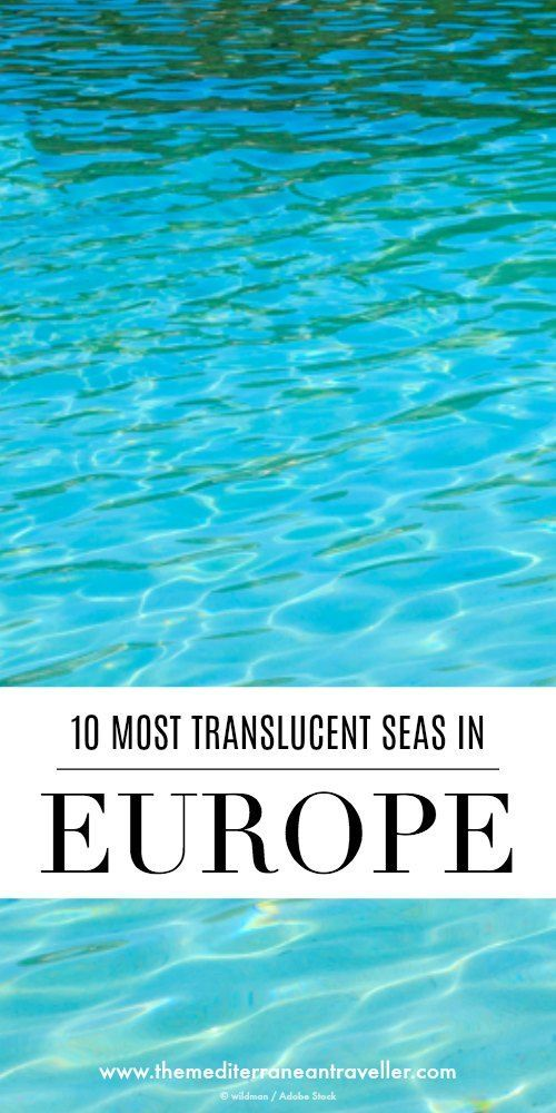 Is your idea of paradise swimming translucent blue waters? There are plenty of paradise beaches in Europe. Here are our top 10 best beaches in the Mediterranean for heavenly crystal clear turquoise seas. #beaches #europe #mediterranean