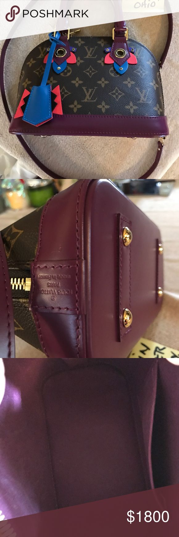 Louis  Vuitton Alma BB Totem- like new. This is a beautiful bag. I carried it once but it is not the style for me . It is pristine condition. No trades . Louis Vuitton Bags Crossbody Bags