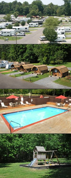 The Memphis Graceland RV Park Campground Is Located On 19 Acres Just Off Elvis