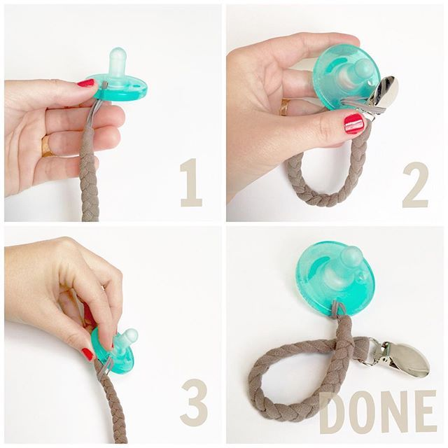 I get a lot of questions about pacifier clip use with Soothie pacifiers. Here you go. #pacifier #pacifier #tutorial #babygift #babyshowergift #newbaby #etsyfind #etsy [sorry this is repeat post...I let my kid play with my phone, and you know, they delete