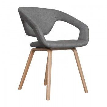 Design stoel Flexback hout
