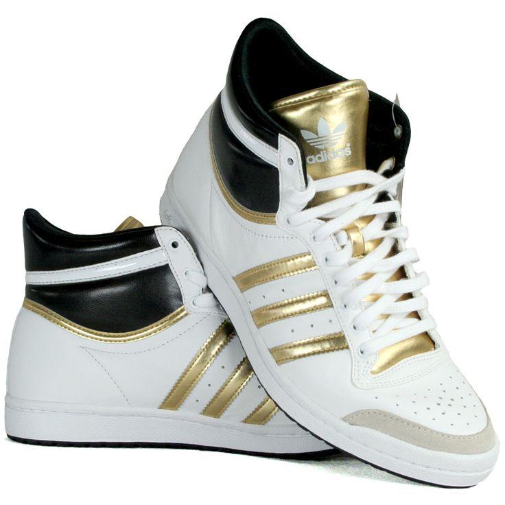 Adidas Top Ten HI Sleek G02441 - Obuwie Damskie. Sportowe buty w dobrej cenie