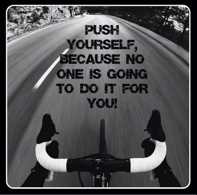 Push yourself! For more great pics, follow www.bikeengines.com                                                                                                                                                                                 More