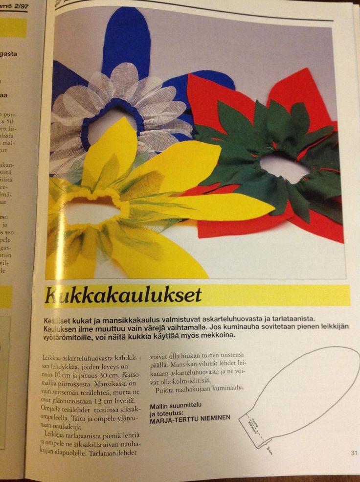 Askartelu ja käsityö  nro 74 kevät / kesä 2/97