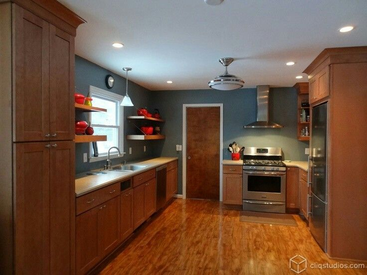 34 Best Kitchen Paint Colors Images On Pinterest | Cherry Wood Kitchens,  Cherry Kitchen Cabinets And Dream Kitchens