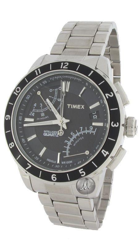 Timex Intelligent Fly-Back Chrono Watch T2N498