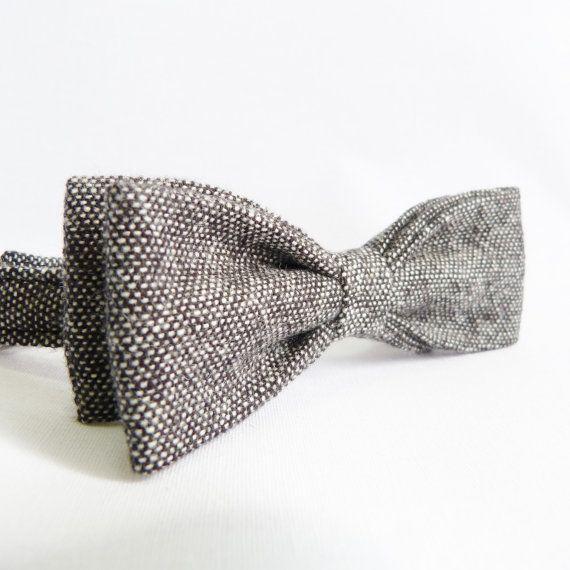 Hommes Maigre Noeud-papillon - Pâlit le Tweed de V de Moaning Minnie sur DaWanda.com