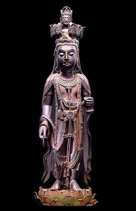 東京国立博物館 十一面観音菩薩立像