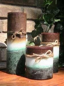 beachy candles