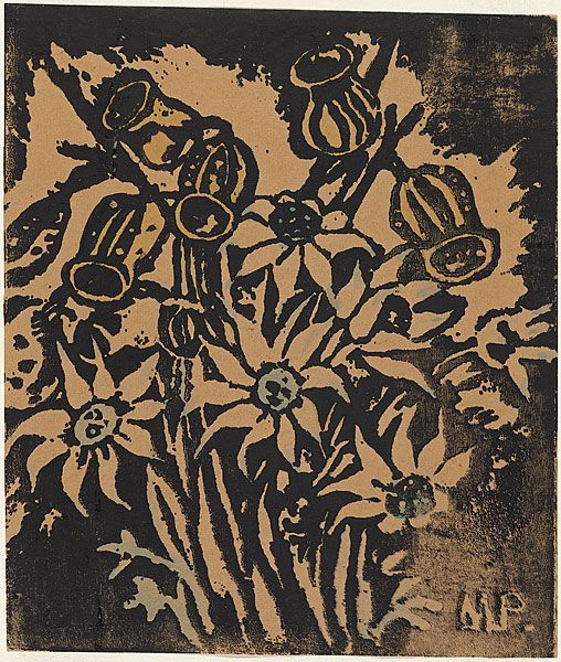 Margaret Preston - Flannel flowers & nuts