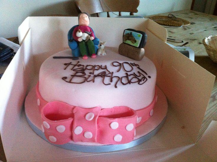 Custom 90th birthday