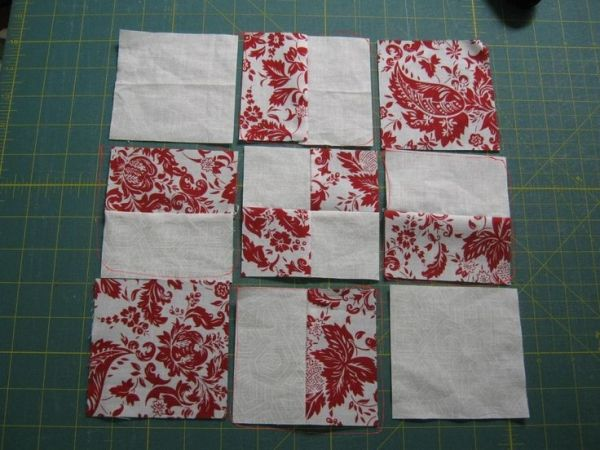 Free Charm Square Quilt Patterns   Free Quilt Patterns: Disappearing 9 Patch, 16 Patch and Twist/Turn ... by debbiedoo109