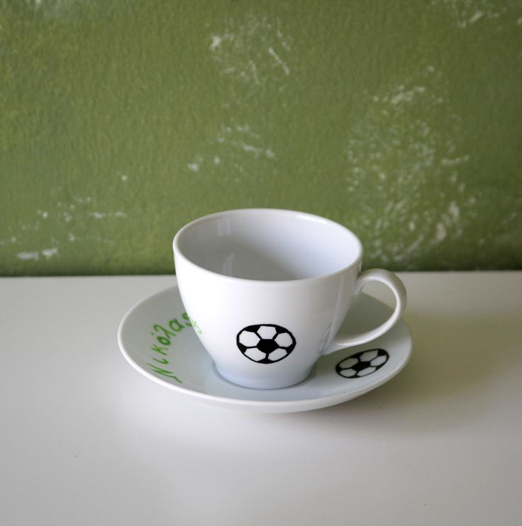 hand painted cup