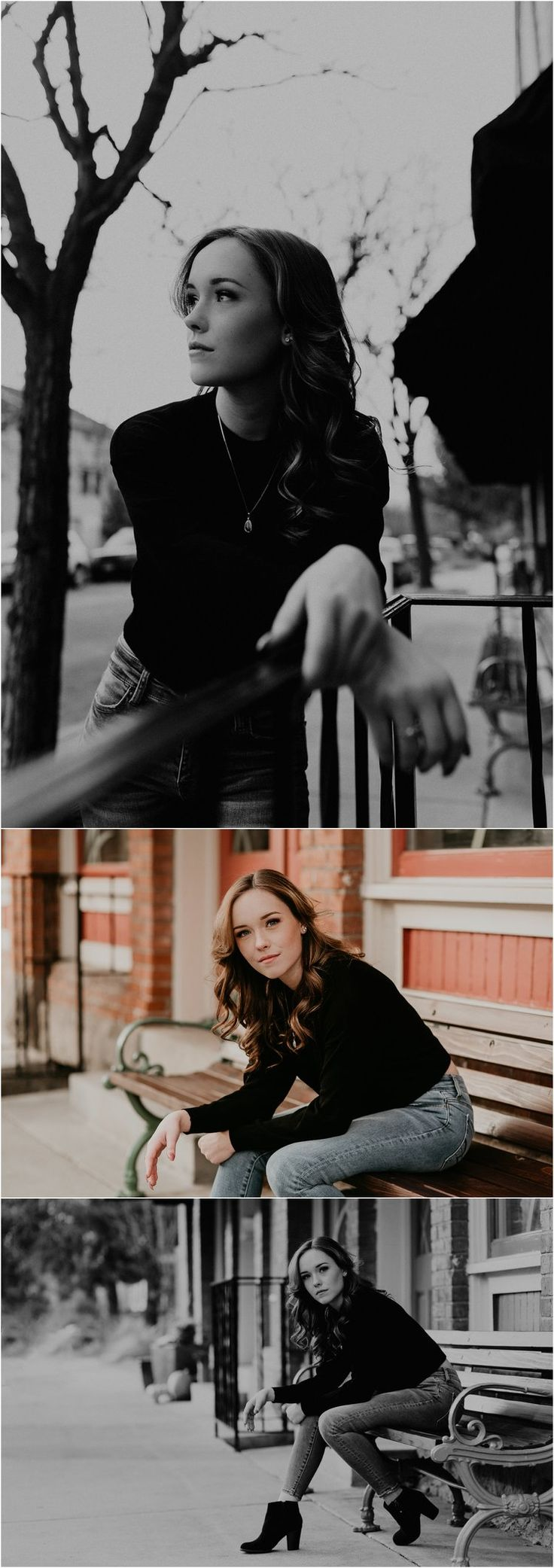 Boise Senior Photographer Makayla Madden Photography Downtown Boise Hyde Park Senior Session Senior Photography Urban Senior Picture Ideas Fun Senior Pics Senior Girl Outfit Ideas Inspiration Sassy Portrait Poses Serious Senior Pictures
