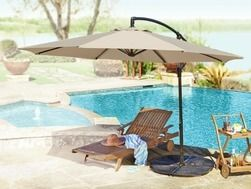 10' Offset Umbrella from Tuesday Morning $79.99