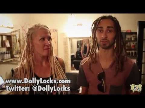 DREADLOCK MAINTENANCE AT DOLLYLOCKS | JAMES BIXBY - YouTube | #dreadlocks #dreads #dollylocks