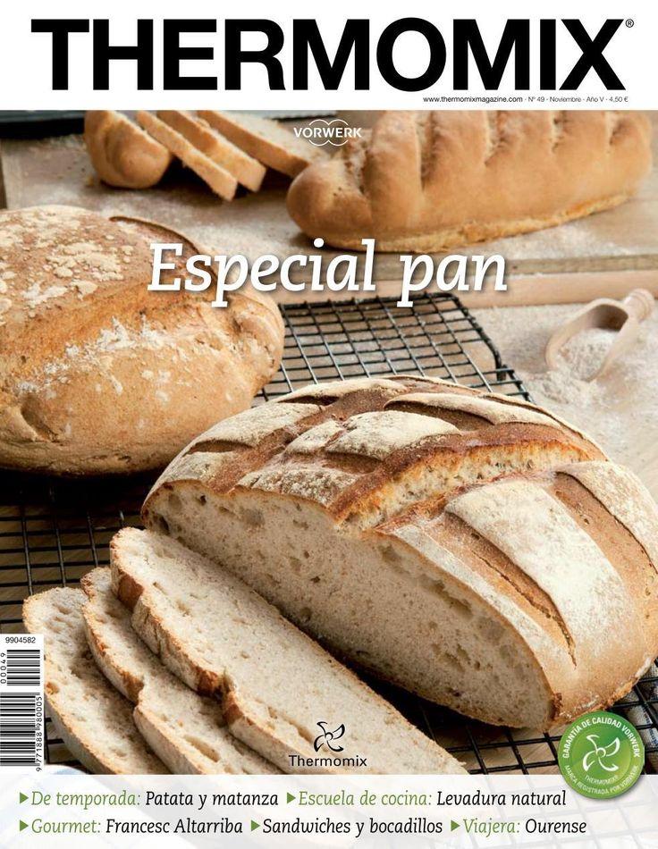Revista thermomix nº49 especial pan por argent