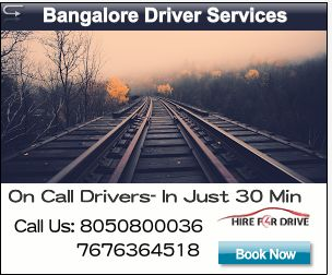 Hire4Drive services  in H.S.R. Layout, Bangalore Book chauffeurs in just 30 min anywhere , anytime