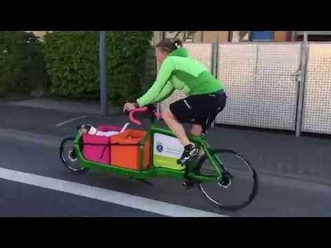 Die Firma quirder - fahrradfreude pur hat das Werberad für das Stadtradeln in Langen (Hessen) zur Verfügung gestellt. (Sonia Quirder - Zweirradmechanikermeis...