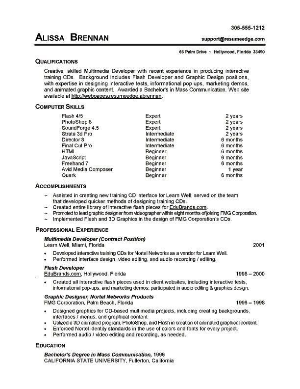 7 Resume Basic Computer Skills Examples Sample Resumes Sample Resumes Proposal T Basic Computer Exampl Resume Skills Resume Examples Resume Skills Section