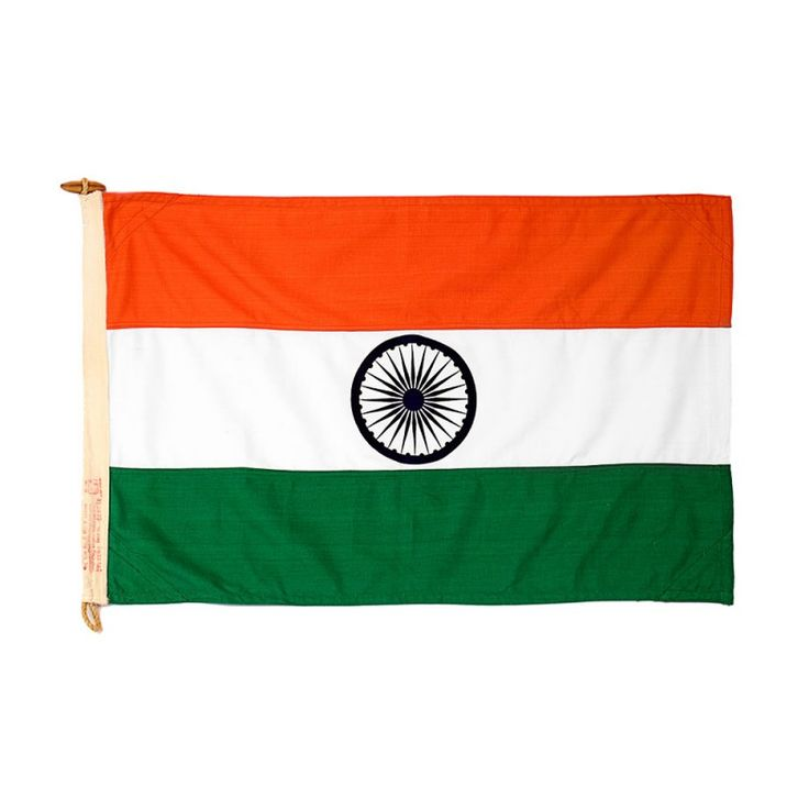 Indian Flag | for Poles | Khadi Cotton with ISI Mark | Size: Small Material: Khadi Cotton Package Contents: 1 Small Size Pole Flag Dimensions: 3x2 Feet Ideal Pole Height: 15-20 Feet Product Weight in GMS: 220