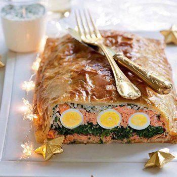 Koulibiac de saumon recette pas chère - http://www.cuisineetvinsdefrance.com/,koulibiac-de-saumon,81383.asp