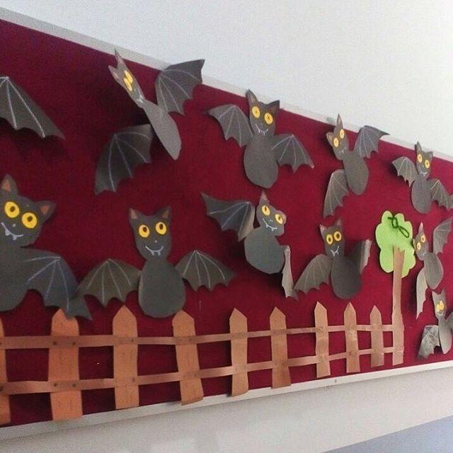 bat bulletin board idea  |   Crafts and Worksheets for Preschool,Toddler and Kindergarten
