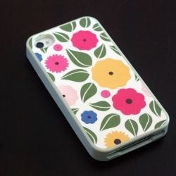 Quick tutorial on how to use decorative paper and decoupage to completely makeover an old iPhone case.