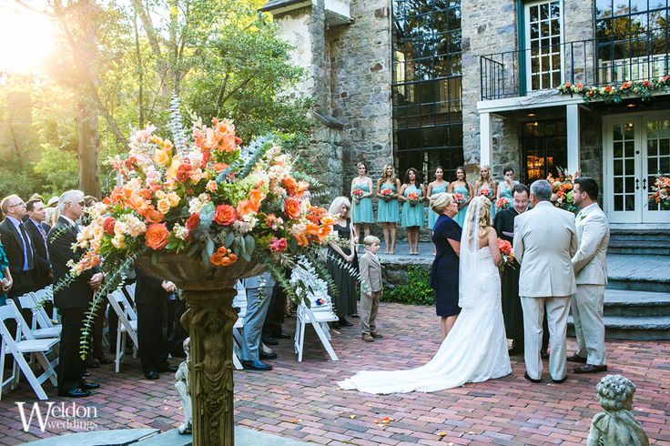 Jenny And Matt S Holly Hedge Estate Wedding In New Hope Pa Stuff Pinterest Venues Weddings