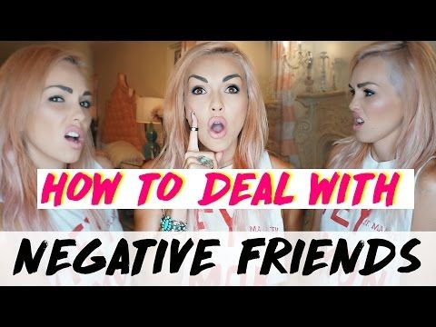 """Video """"How to deal with negative friends"""" Kandee Johnson"""