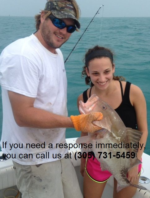 Can you want to spend your holiday with us? There we offer you 4, 8 12 hours, full day, half day and midnight fishing charters boat trips in all Key West, Florida location at competitive prices. That people come targeted species and love to us. If are you interested in visiting our charter, call us at (305) 731-5459 or visit here keywestfishcharter.com #KeyWestCharterBoat #KeyWestFishingTrip #KeyWestLiveBaitCharter #KeyWestProFishingGuide