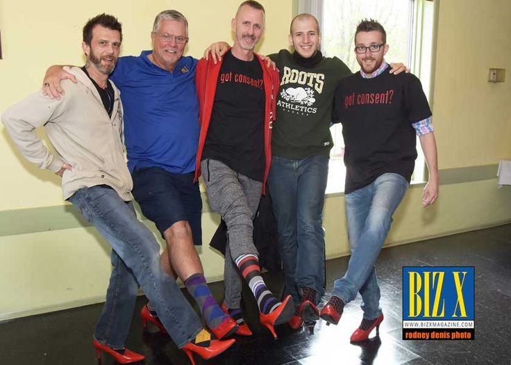 Biz X Was There - Walk a Mile in Her Shoes 2017 After a few days of rain the sun was shining bright for the Walk a Mile in Her Shoes event on May 6, 2017