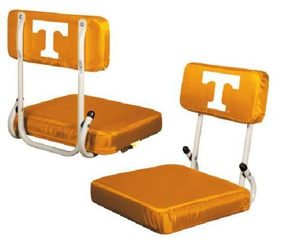 Folding Bleacher Seat Portable Stadium Chair NCAA Tennessee Volunteers Unisex #LogoBrands #TennesseeVolunteers