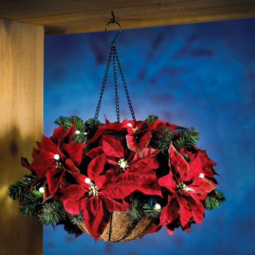 Cordless-Basket-of-Poinsettias-to-Decorate-Your-Home-for-Christmas