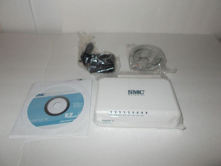 SMC Network Wireless N Router SMCWBR14S-N4 NO INSTRUCTIONS #SMC