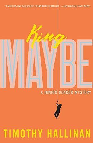 King Maybe (Junior Bender, #5) by Timothy Hallinan- Fourth in his Junior Bender series, Hallinan is following the lead of Elmore Leonard, Donald Westlake, and Carl Hiaasen with his tale of a cat burglar with a conscience. Told with great wit and surprising compassion.- Mary H., Youth Services