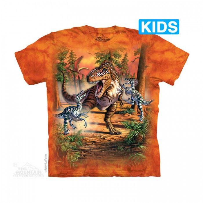 Tricou The Mountain - Cadou copii Dino Battle