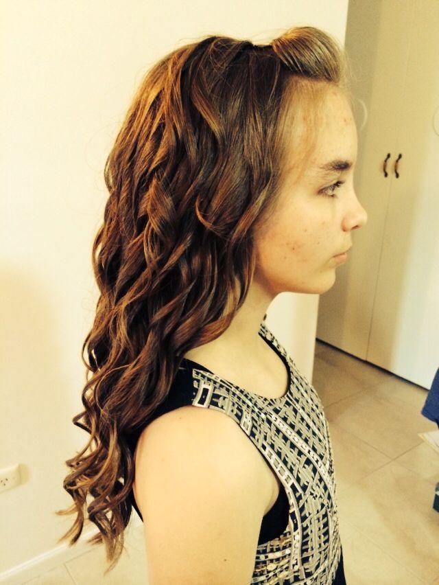 Year 6 Graduation curls