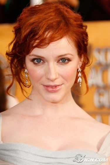 Christina Hendricks! AND redheads!
