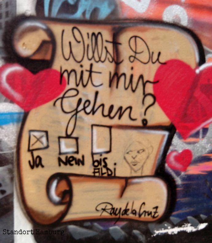Streetart in Hamburg, Germany