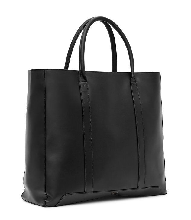 REISS - RUNNER LEATHER TOTE BAG £225