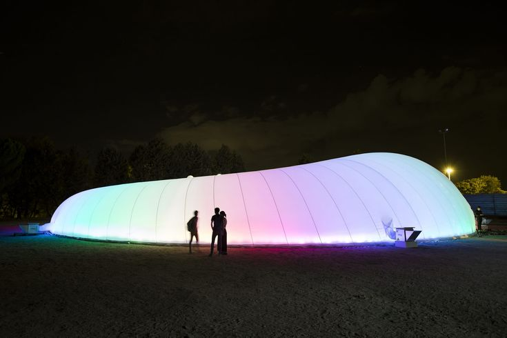 INCM Madrid 2016, José Javier Cullen · EASA Madrid 2016 Habitat 'La Nube'