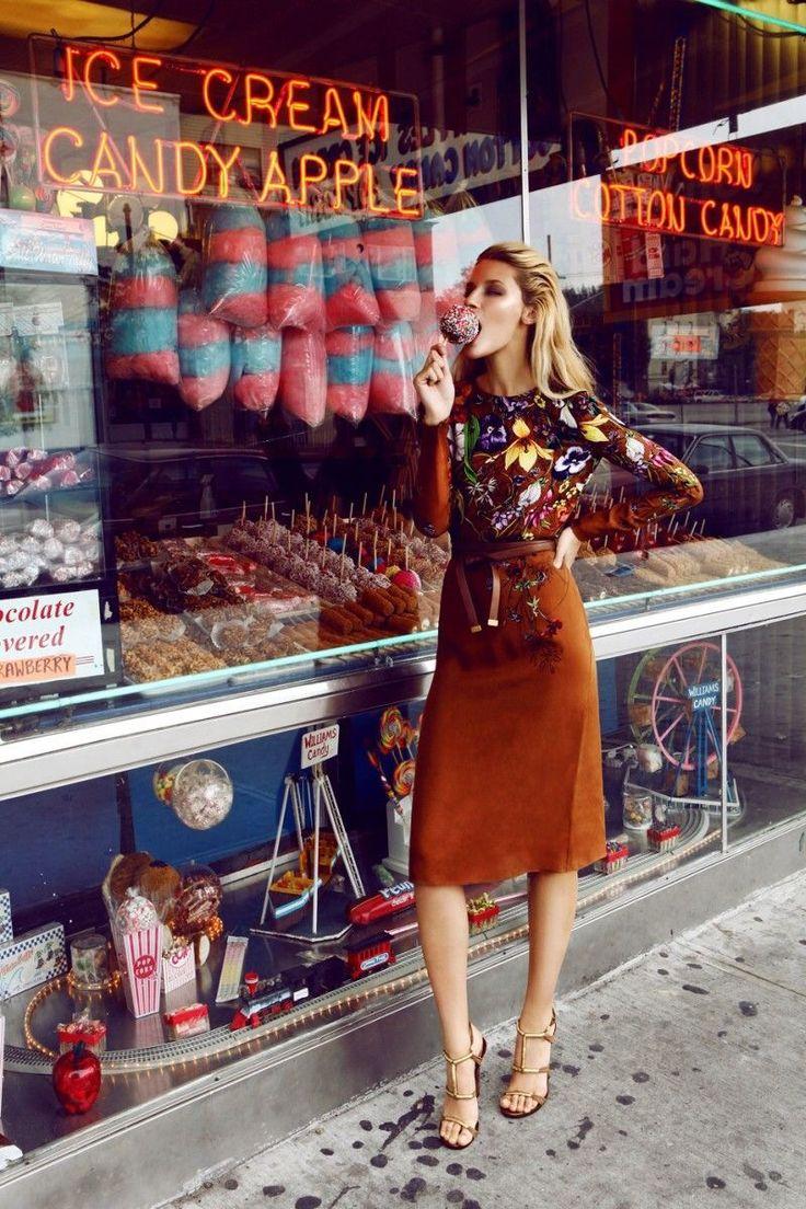 Candy + ice cream shop